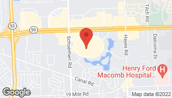 Map of 14600 Lakeside Circle in Sterling Heights