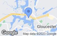 Map of Gloucester, MA