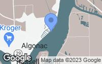 Map of Algonac, MI