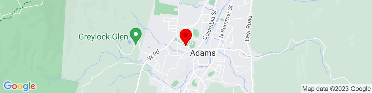 Google Map of 42.625673, -73.12250399999999