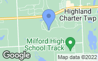 Map of Highland Charter Township, MI