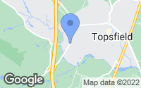 Map of Topsfield, MA