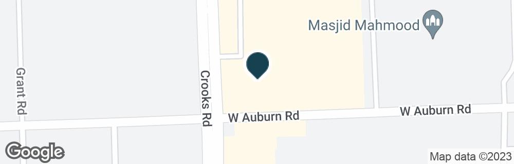 Google Map of2985 CROOKS RD