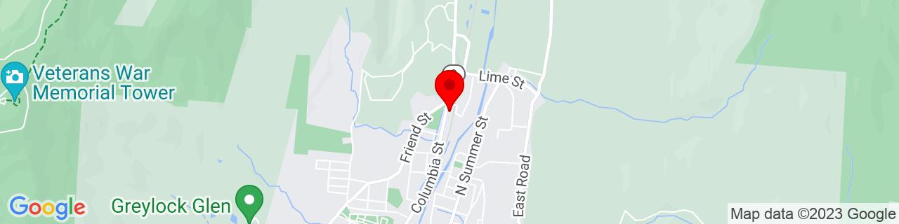 Google Map of 42.636263, -73.1127939