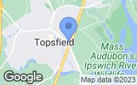 Map of Topsfield, MA