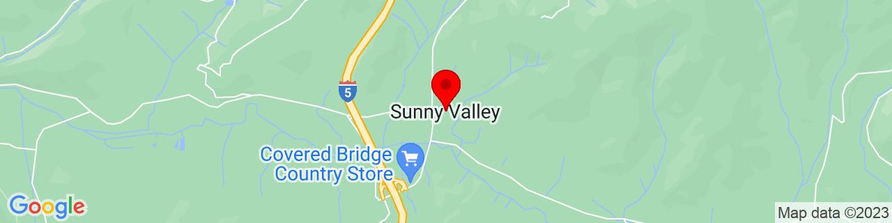 Google Map of 42.6390067, -123.3756188