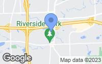 Map of Auburn Hills, MI