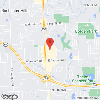 Map of Christopher & Banks at 2685 South Rochester Road, Rochester Hills, MI 48307