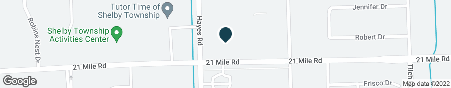 Google Map of47100 HAYES RD