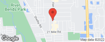Map of 47587 Van Dyke Ave in Shelby Township