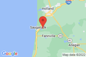 Map of Saugatuck