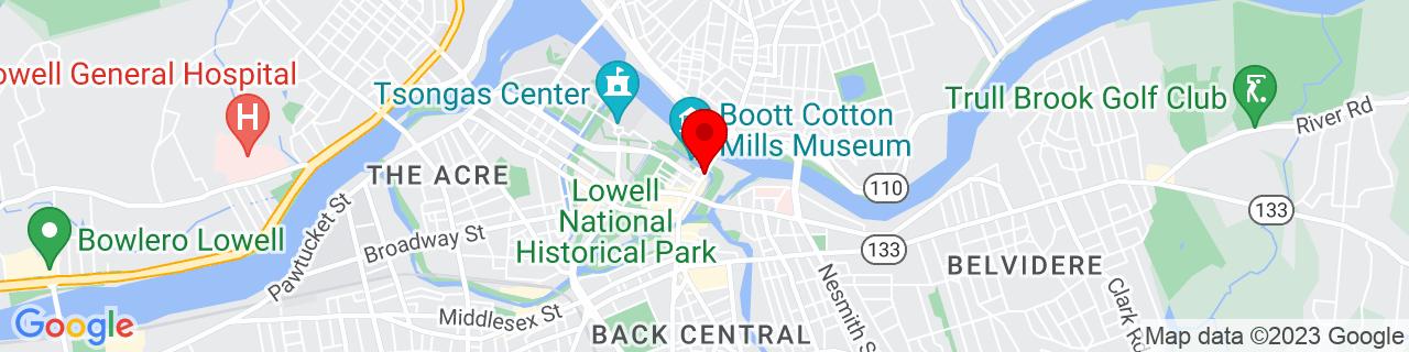Google Map of 42.6466412, -71.3064259