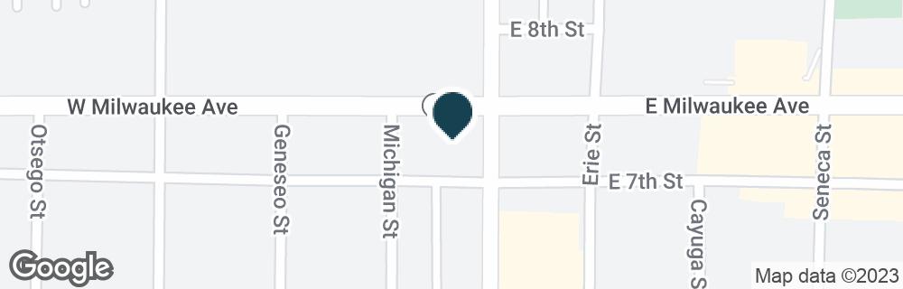 Google Map of800 LAKE AVE