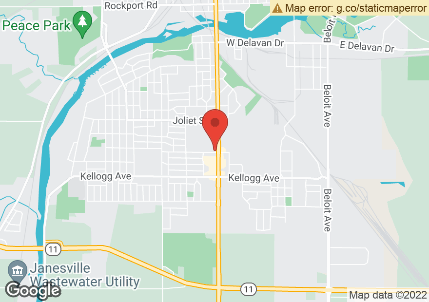 Google Map of 1740 CENTER AVE