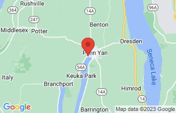 Map of Penn Yan
