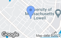 Map of Lowell, MA
