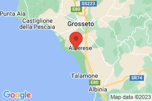 Map of Maremma Coast