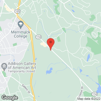 Map of Elizabeth Curtis, MD at 867 Turnpike Street, North Andover, MA 01845