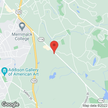 Map of Daniel Callahan, DPM at 873 Turnpike Street, North Andover, MA 01845