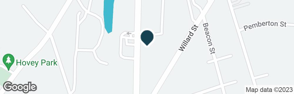 Google Map of1161 BRIDGE ST
