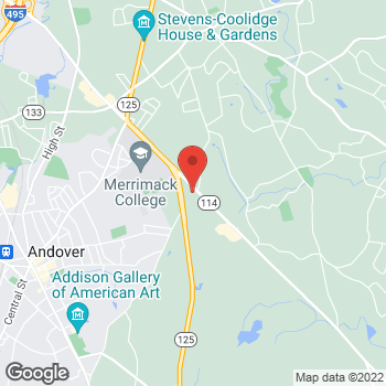 Map of SMG North Andover General Surgery at 575 Turnpike Street, North Andover, MA 01845