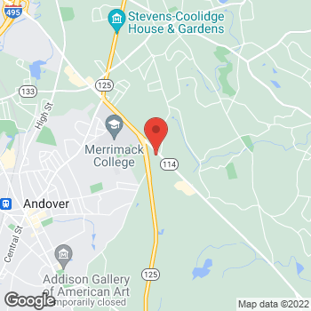 Map of Beth Ann Biggee, MD at 575 Turnpike Streetsuite 11, North Andover, MA 01845