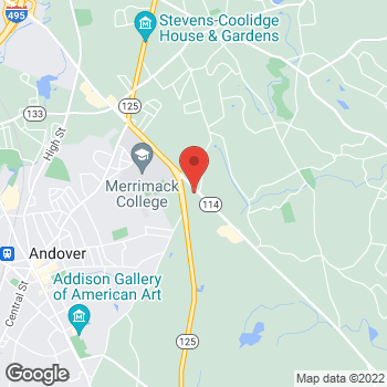 Map of Barry Pisick, MD at 565 Turnpike Street, North Andover, MA 01845