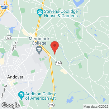 Map of Megan Bernstein, MD at 538 Turnpike Street, North Andover, MA 01845