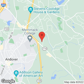 Map of Michelle Dominguez, NP at 538 Turnpike Street, North Andover, MA 01845
