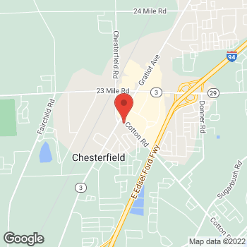 Map of Rite Aid at 50290 Gratiot Avenue, Chesterfield, MI 48051