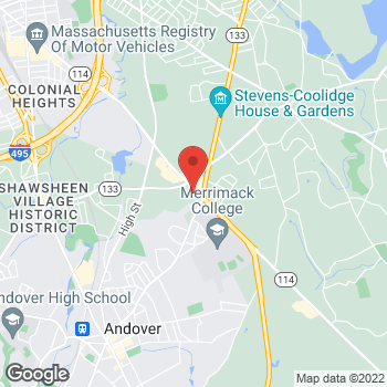 Map of Mandy Kaur, MD at 203 Turnpike Street, North Andover, MA 01845