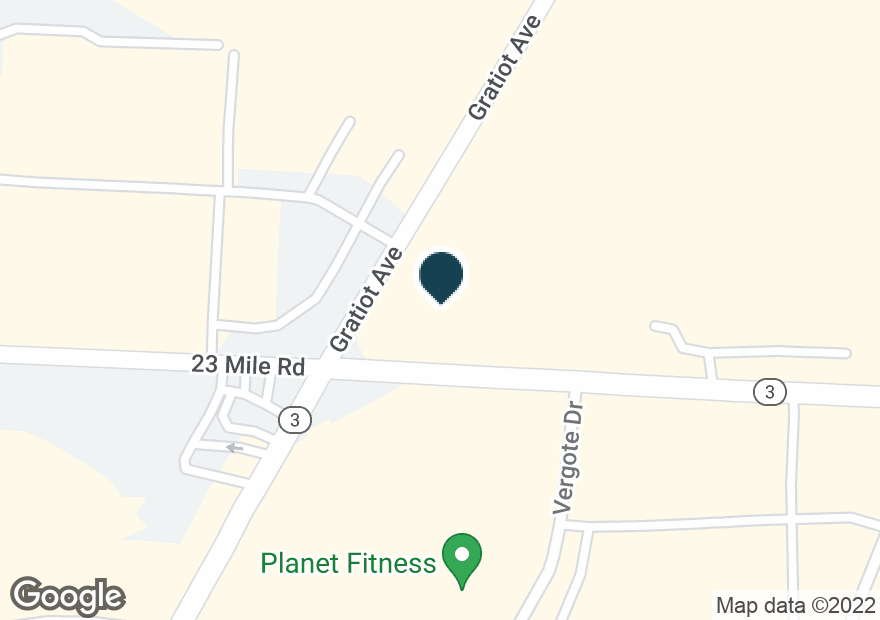 Google Map of51008 GRATIOT AVE