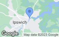 Map of Ipswich, MA