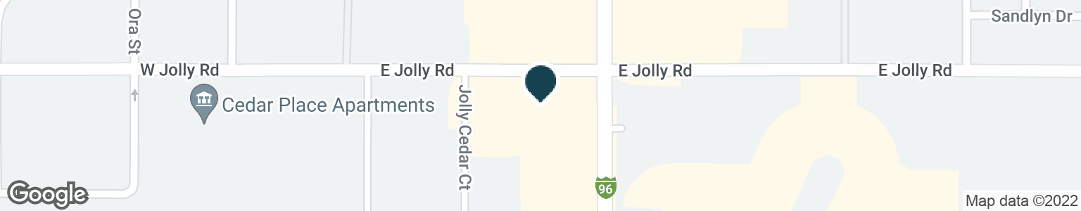 Google Map of410 E JOLLY RD
