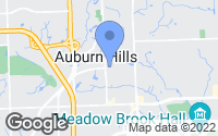 Map of Auburn Hills, MI
