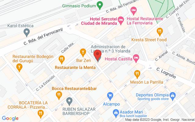Administración nº3 de Miranda de Ebro