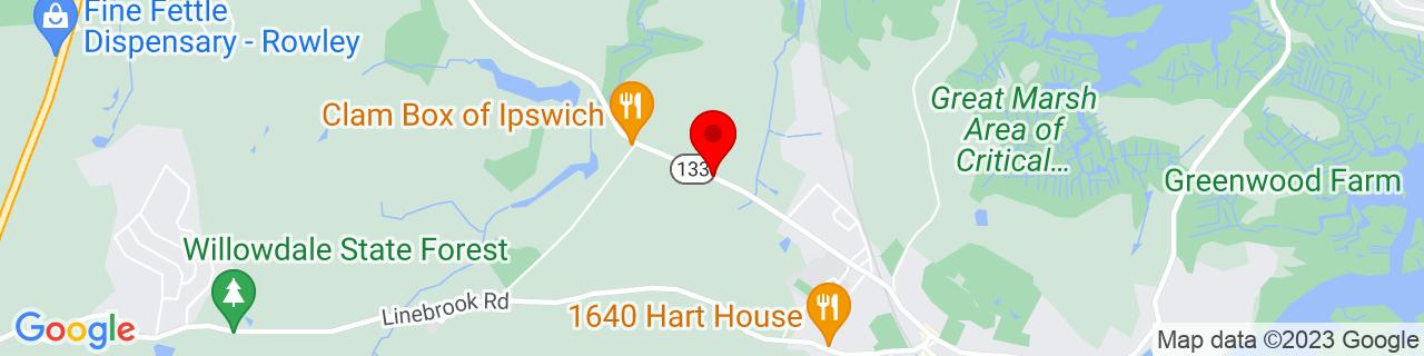 Google Map of 42.6939657, -70.8605436