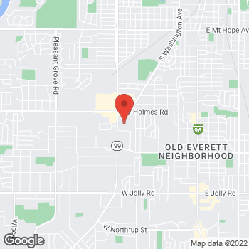 Map of Citi Trends at 921 W. Holmes Rd, Lansing, MI 48910