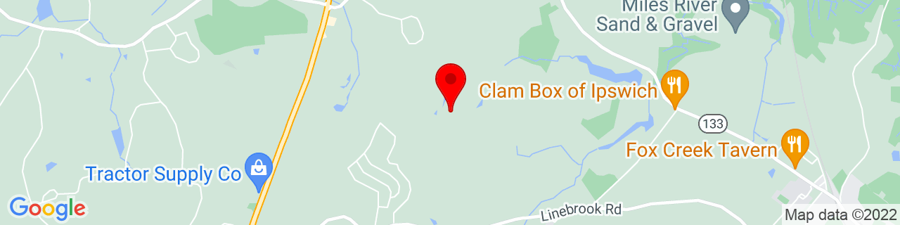 Google Map of 42.6955673, -70.8941979