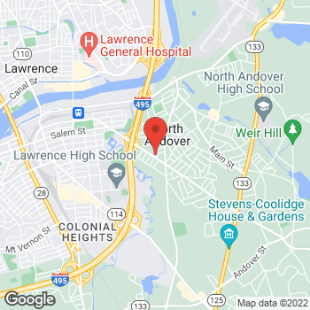 Map of Yookyung Selig, MD at 198 Massachusetts Avenuesuite 103, North Andover, MA 01845