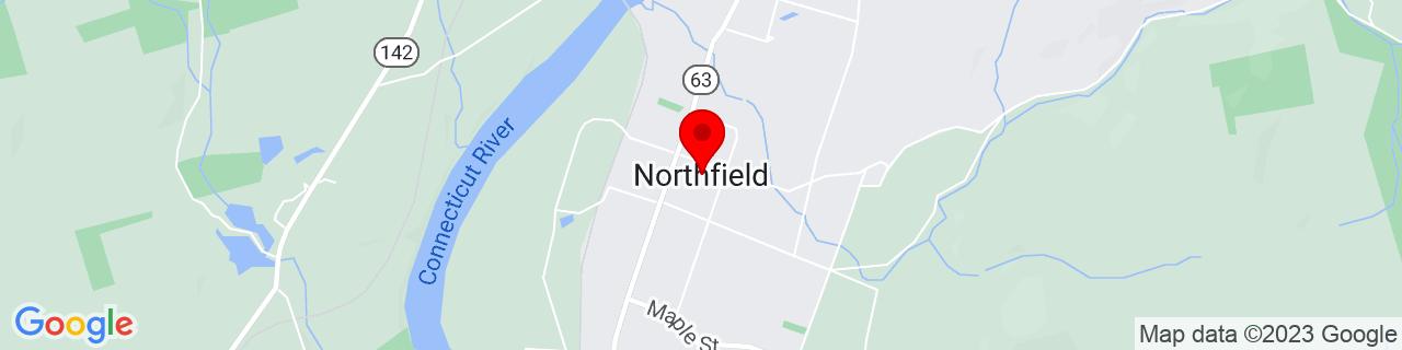 Google Map of 42.69592, -72.45287