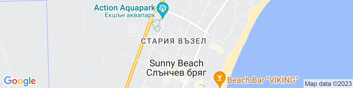 Google Map of 42.698963, 27.708715