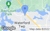 Map of Waterford Township, MI