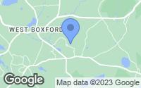 Map of Boxford, MA
