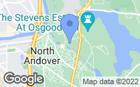 Map of North Andover, MA