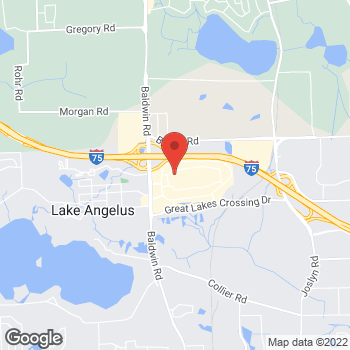Map of Bed Bath & Beyond at 4780 Baldwin Road, Auburn Hills, MI 48326