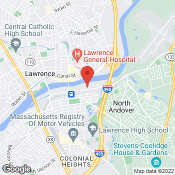 Map of Bruce Cook, MD at 354 Merrimack Streetbuilding 1, Lawrence, MA 01843