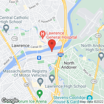 Map of Shilpa Desai, MD at 360 Merrimack Street, Lawrence, MA 01843