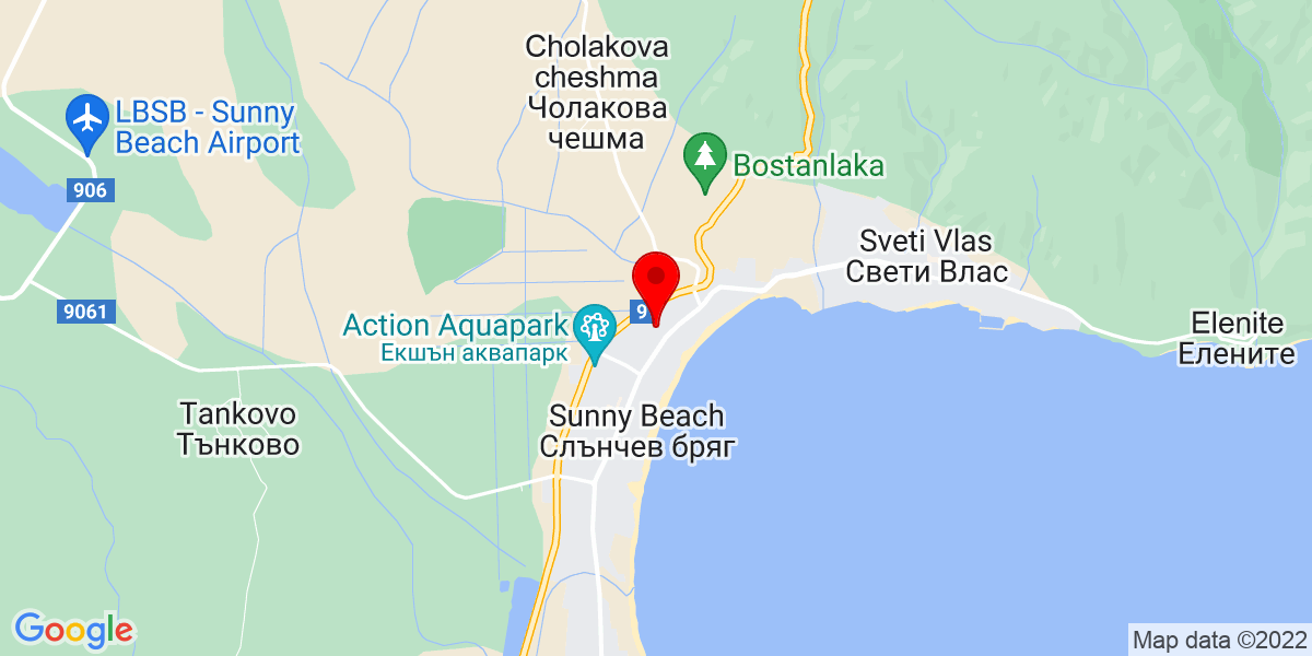 Google Map of 42.70565083748071, 27.715338195101026