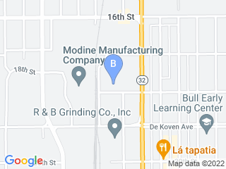 Map of Woofdog Astoria Dog Hotel & Day Spa Dog Boarding options in Racine | Boarding